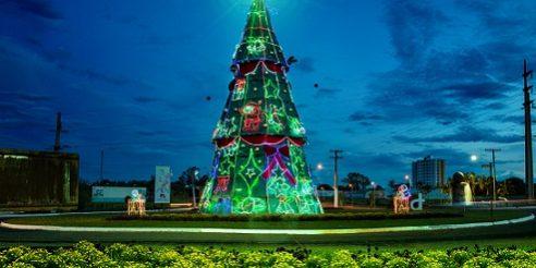 """Prefeitura de Caldas Novas inicia a montagem da 4ª edição da """"Magia do Natal"""" – Prefeitura de Caldas Novas"""